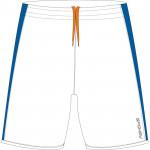 Spokey Fotbalové šortky bílo-modré vel. M