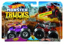 Hot Wheels Monster trucks demoliční duo - mix variant či barev
