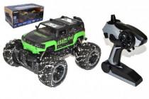 Auto RC terénní plast 25cm na dálkové ovládání+bateriový pack+USB - mix barev