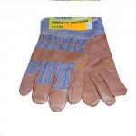 rukavice ROBIN tkanina/hovězina