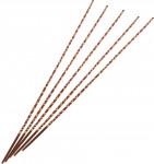 Dekorace - Spirála jutová (jute) Raffia Stick Double - 5 ks
