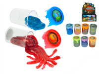 Duhová vesmírná hmota 6x8 cm v kelímku - mix variant či barev