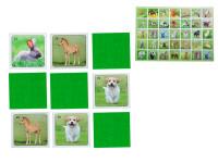 Pexeso Mláďata 64 karet reálná zvířátka
