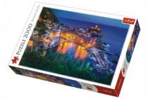 Puzzle Vernazza za soumraku Itálie 2000 dílků 96x68cm