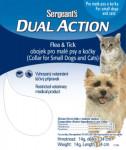 Sergeanťs Dual Action obojek kočka a malý pes 34 cm