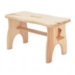 stolička 38x19x21cm, nosnost 100kg dřev. borovice