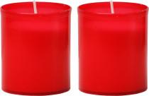 Svíčka Vatikánka malá bez víčka 90 g - 2 ks