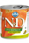 N&D DOG PUMPKIN Adult Boar & Apple 285g - VÝPRODEJ
