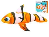 Ryba klaun nafukovací 147x94 cm s úchyty