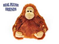 Orangutan plyšový 30 cm sedící
