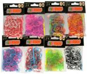 Udělej si svůj náramek - gumičky na pletení gumové - mix variant či barev