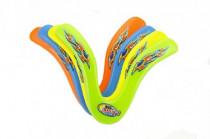 Bumerang plast 25cm - mix barev