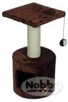 Škrabadlo Boogie - hnědé Nobby v. 59 cm, zákl.pr. 30 cm