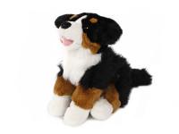 Pes plyšový 25 cm sedící