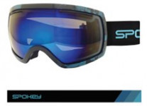 Spokey RADIUM lyžařské brýle černo-žluté K926716