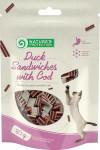 Nature's Protection Cat Snack kachní sandwich+ryba 80 g