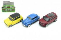 Auto Welly mini kov 7cm - mix variant či barev