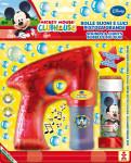 Bublifuková pistole Disney Mickey velká + bublifuk 60 ml