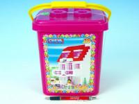 Stavebnice Cheva 18 Cukrárna plast