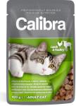 Calibra Cat kaps.- jehněčí a drůbeží v omáčce 100 g