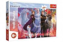 Puzzle Ledové království II/Frozen II 260 dílků 60x40cm