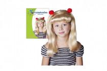 Paruka blondýna roztleskávačka v sáčku karneval