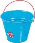 Dětský kyblík kovový modrý Stocker