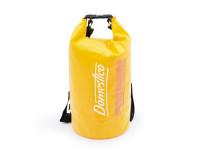 Vodotěsný vak Dry Bag 20l s dvěma popruhy na ramena a průhledem, Domestico