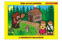 Puzzle deskové O Perníkové Chaloupce 26x17cm 24 dílků Moje první pohádky