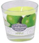 Svíčka sklo - aroma jablko 160 g - 4 ks