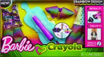 Barbie D.I.Y.crayola magický vzor - mix variant či barev
