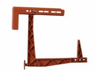 Držák truhlíku HERKULES balkónový stavitelný terakota - VÝPRODEJ