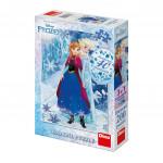 Puzzle 200 dílků: Frozen sesterská láska diamond