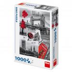 Puzzle Londýn - koláž 1000 dílků 47x66cm