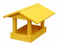 Krmítko č.11 dřevěné žluté