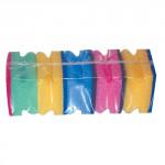 houbička na nádobí tvarov.8,5x7x4,5cm (5ks) 1205 - mix barev