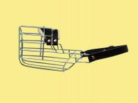 Náhubek kovový Pudl, Jezevčík - pes, chrom 80 x 95 x 95 mm