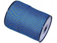 šňůra PPV bez duše 4mm barevná pletená (200m)