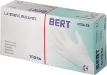 Rukavice latexové Bert - v krabičce (100 ks) vel. 7