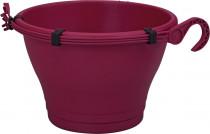 Elho květináč Corsica Hanging Basket - cherry 30 cm