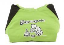 Dětská mikina Mayaka s kapucí The Lord of the Rings - zeleno-hnědá
