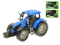 Traktor 1:32 20 cm na setrvačník - mix barev