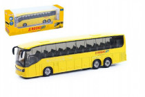 Autobus RegioJet kov/plast 18,5cm na zpětné natažení