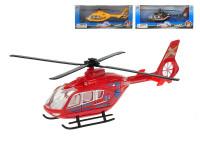 Helikoptéra 21 cm kov 1:72 - mix barev