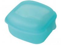 box s klick uzávěrem EU 11x11x6cm (0,5l) plastový - mix barev