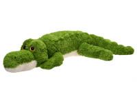 Krokodýl plyšový 125 cm ležící velké oči