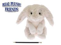 Zajíc/Zajíček plyšový 24cm dlouhé uši sedící 2-Play 0m+