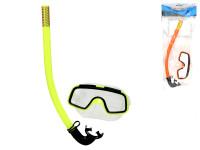 Potápěčská sada brýle14 cm se šnorchlem 33 cm - mix barev