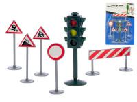 Sada dopravního značení se semaforem 6 ks