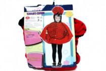 Karnevalový kostým Beruška plyš 3-4 let v sáčku karneval